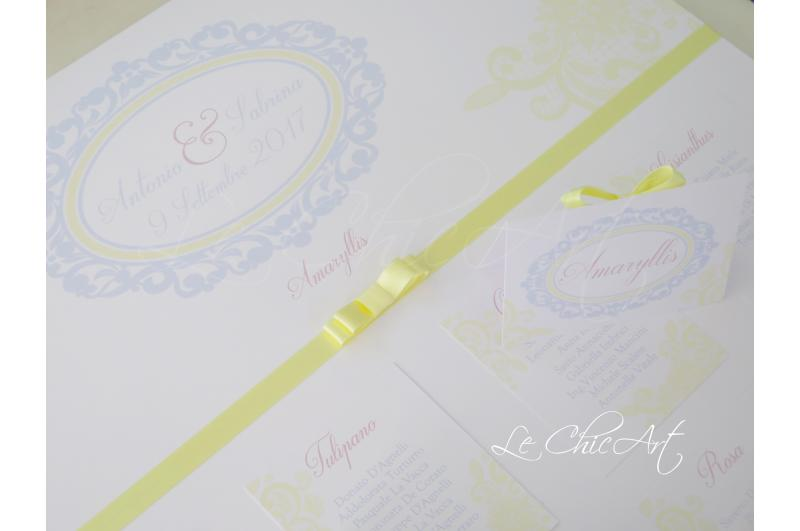 Tableau Matrimonio Azzurro : I nostri tableau de mariage