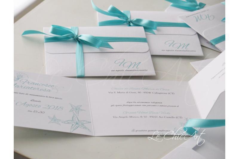 Partecipazioni Matrimonio Tiffany On Line.Linea Graphiques